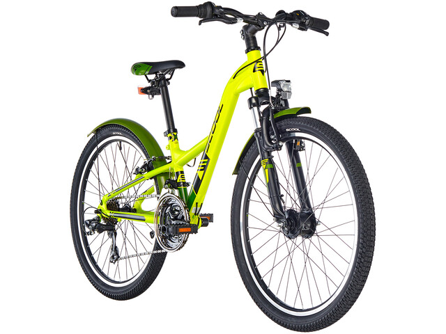 s'cool XXlite 24 21-S Børnecykel alloy grøn (2019) | City-cykler